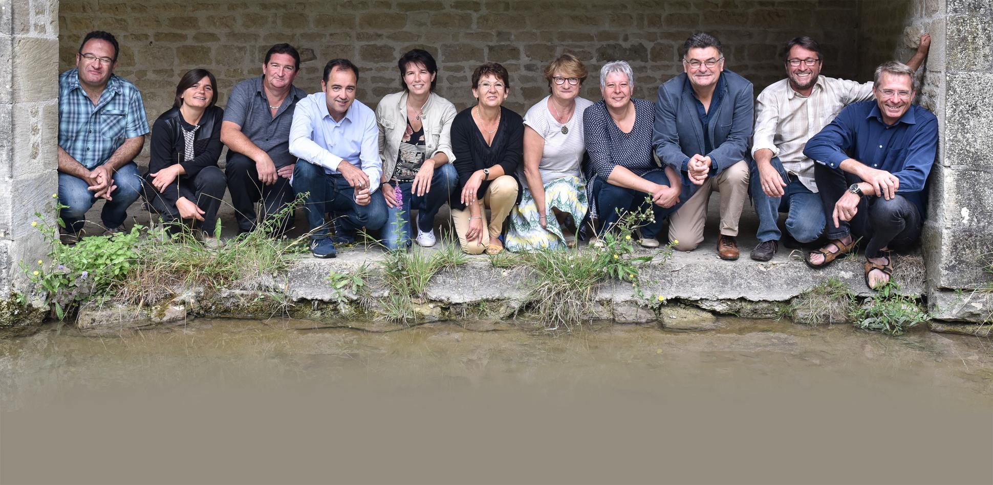 Les 11 éleveurs d'Orylag et Rex du Poitou