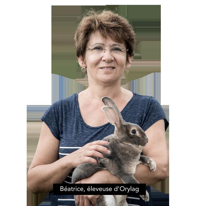 Béatrice, éleveuse d'Orylag