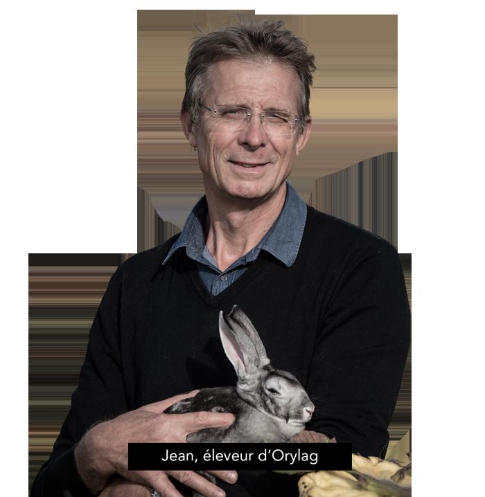 Jean, éleveur d'Orylag