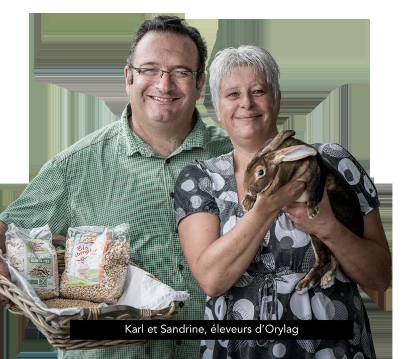 Karl et Sandrine, éleveurs d'Orylag