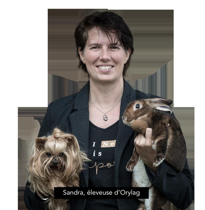 Sandra, éleveuse d'Orylag